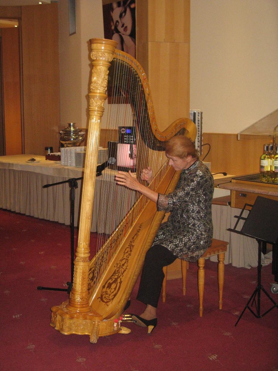 Prof. Ewa Jaślar - Walicka - harfistka