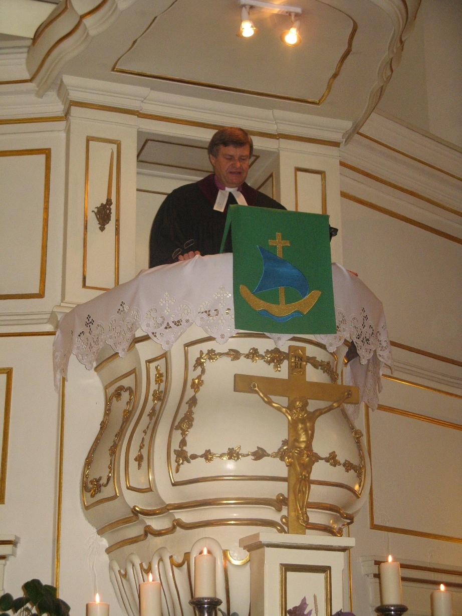 Kazanie wygłosił Biskup Ryszard Bogusz