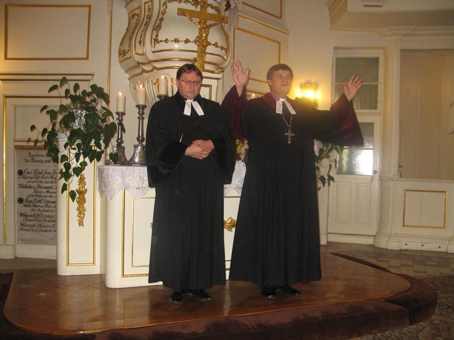 Błogosławieństwa udzielił Biskup Ryszard Bogusz
